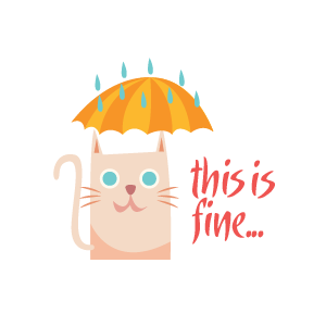 Cat Relaxing Sticker messages sticker-7