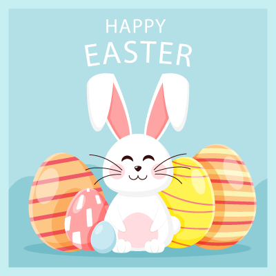 Easter.Stickers messages sticker-10