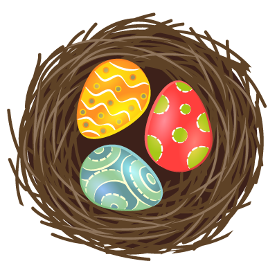 Easter.Stickers messages sticker-11