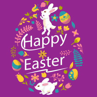 Easter.Stickers messages sticker-2