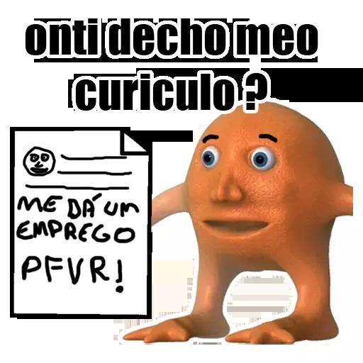 OrangeBoy - Laranjo Memes messages sticker-7