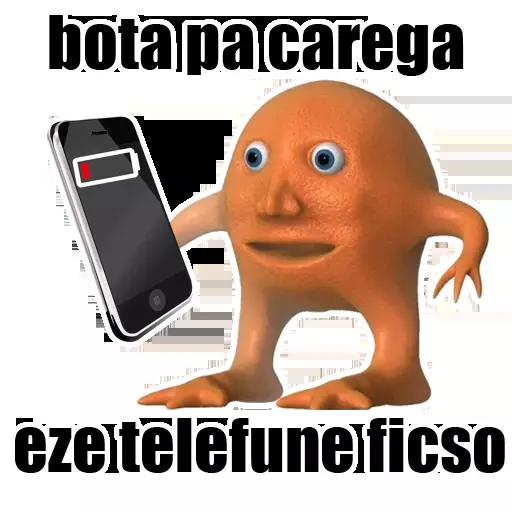 OrangeBoy - Laranjo Memes messages sticker-4