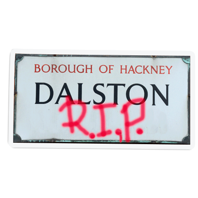 It's a Dalston Thing - London messages sticker-4