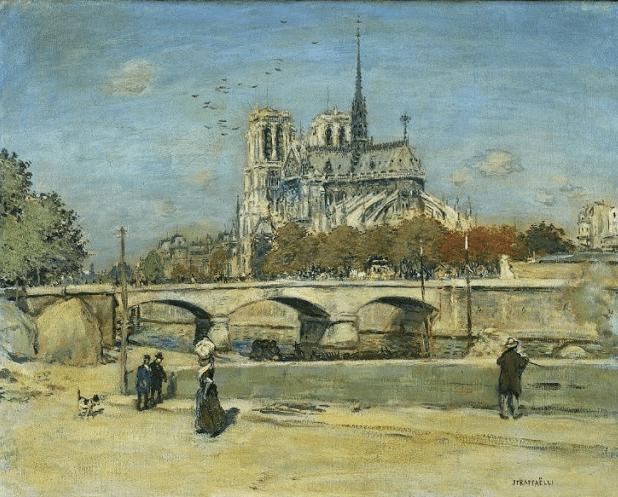 The Beauty of Notre-Dame Paris messages sticker-1