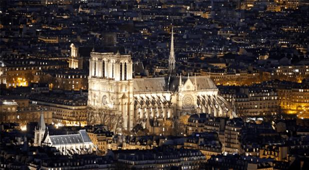 The Beauty of Notre-Dame Paris messages sticker-9