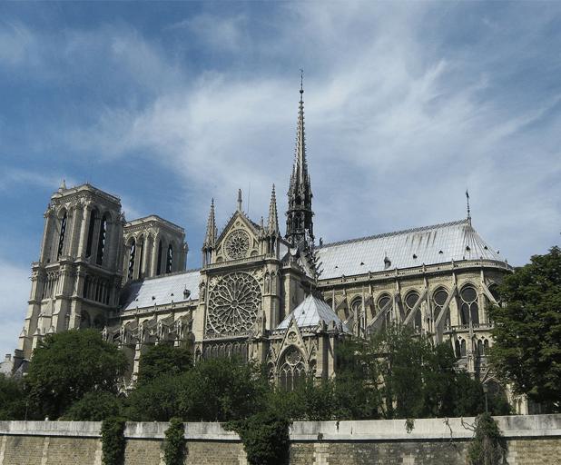 The Beauty of Notre-Dame Paris messages sticker-10