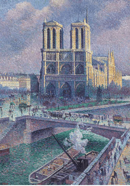 The Beauty of Notre-Dame Paris messages sticker-3