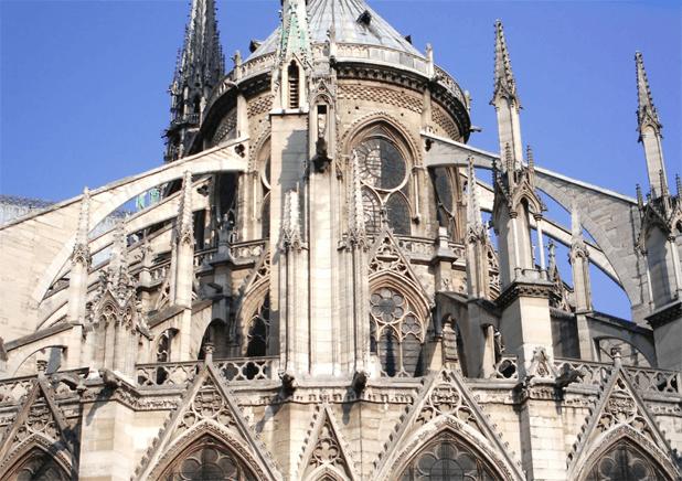 The Beauty of Notre-Dame Paris messages sticker-7