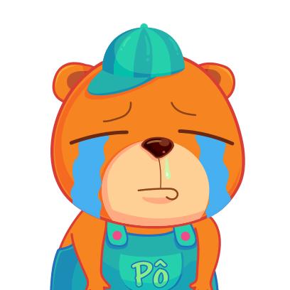 Gấu Pô Sticker messages sticker-4