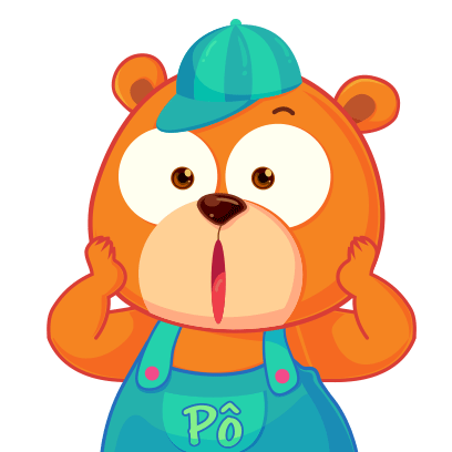 Gấu Pô Sticker messages sticker-7