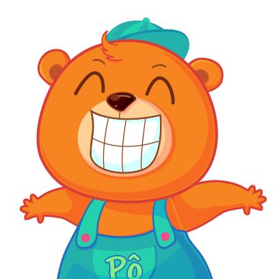 Gấu Pô Sticker messages sticker-5