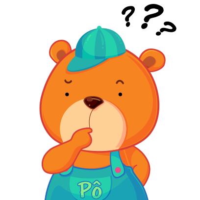 Gấu Pô Sticker messages sticker-3
