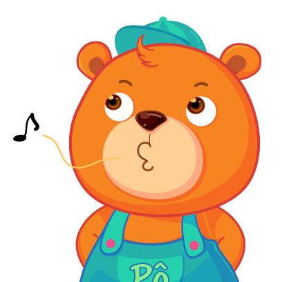 Gấu Pô Sticker messages sticker-1
