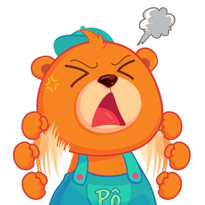 Gấu Pô Sticker messages sticker-10