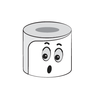 Toilet Paper Feeling Sticker messages sticker-8