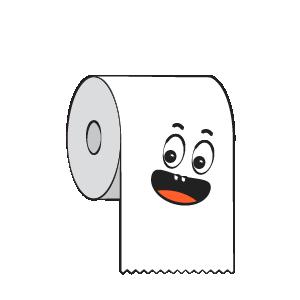 Toilet Paper Feeling Sticker messages sticker-4