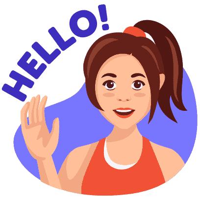 Workout for Women by SlimQueen messages sticker-0