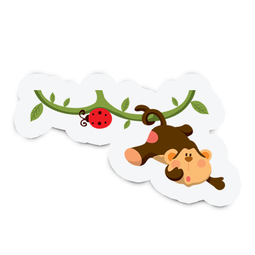 Cute Animal Stickers for Kids messages sticker-5