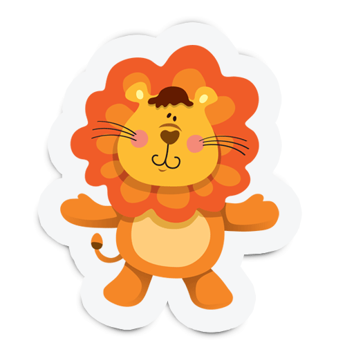 Cute Animal Stickers for Kids messages sticker-0