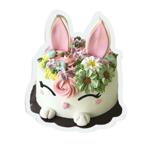 cute birthday cakes messages sticker-3