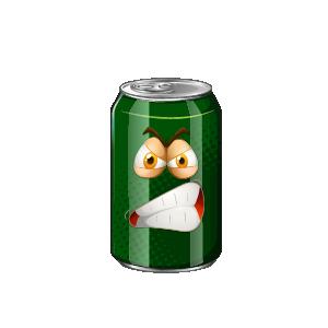 Beverage Exicted Sticker messages sticker-3