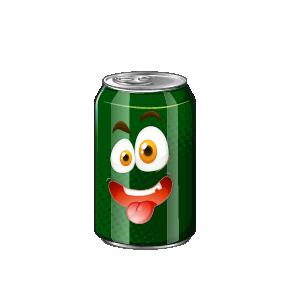 Beverage Exicted Sticker messages sticker-8