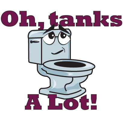 Toilet Talk With Tank messages sticker-3