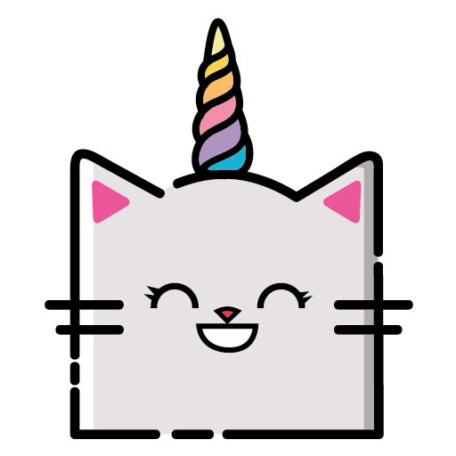 KittyCorn Emoji messages sticker-2
