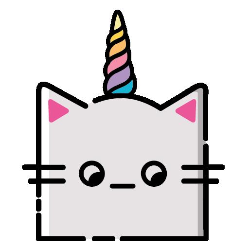 KittyCorn Emoji messages sticker-10