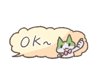 Speech bubble of Hachiware messages sticker-7
