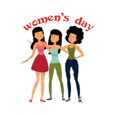 Womens Day Stickers messages sticker-10