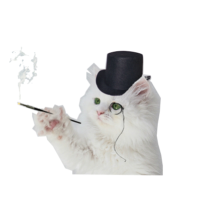 animals wearing monocles messages sticker-7