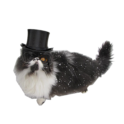 animals wearing monocles messages sticker-8