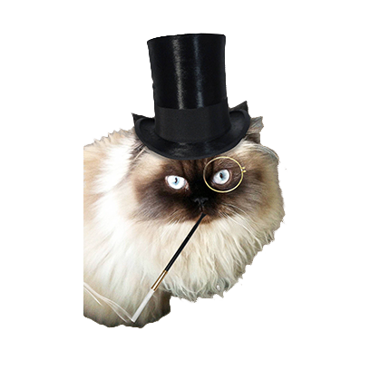 animals wearing monocles messages sticker-6