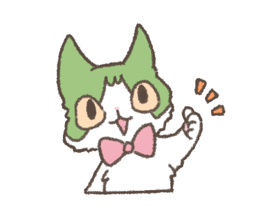 Daily Life of Hachiware ! messages sticker-0