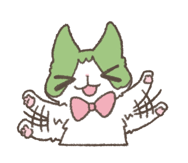 Daily Life of Hachiware ! messages sticker-8