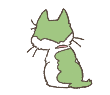 Daily Life of Hachiware ! messages sticker-3