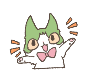 Daily Life of Hachiware ! messages sticker-2