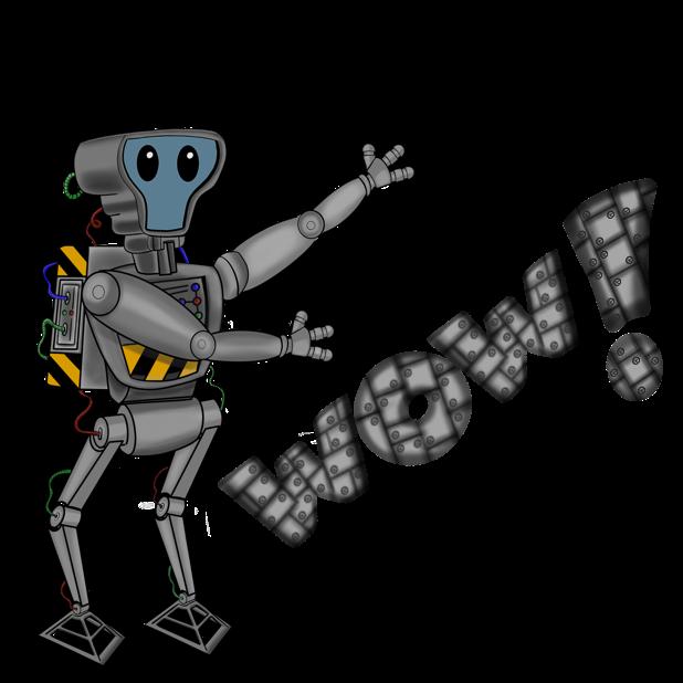 Mr Nice Robot messages sticker-10