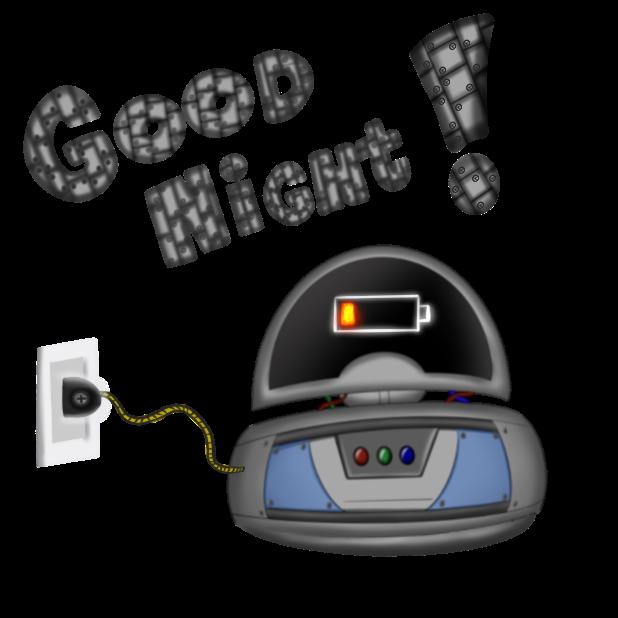 Mr Nice Robot messages sticker-0