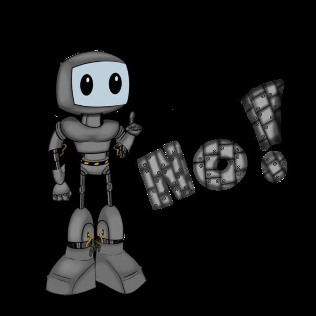 Mr Nice Robot messages sticker-2