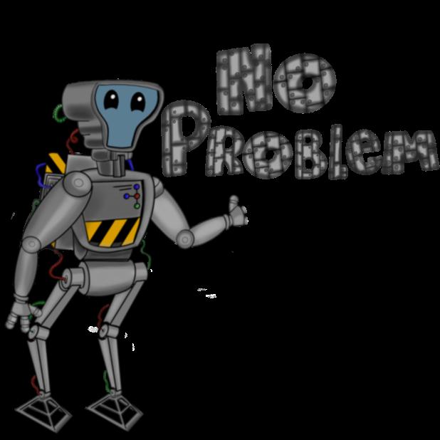 Mr Nice Robot messages sticker-6