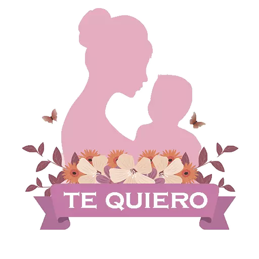 Mother day Stickers 2019 messages sticker-5
