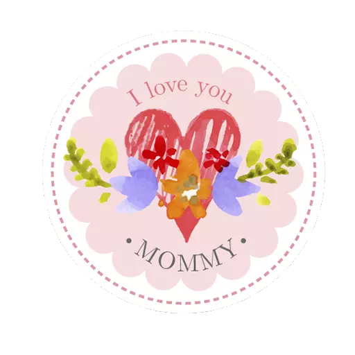 Mother day Stickers 2019 messages sticker-4