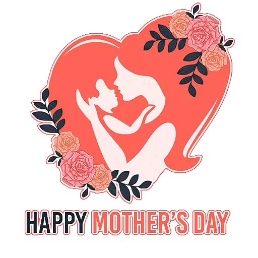 Mother day Stickers 2019 messages sticker-2