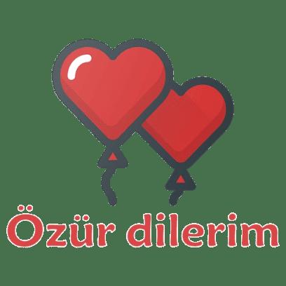 Turkish Love Stickers messages sticker-3