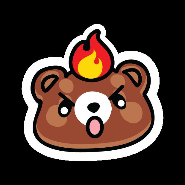 Мишки за хорошие делишки messages sticker-7