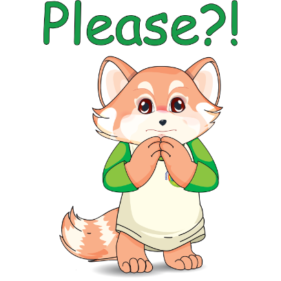 Lester the Lesser Panda messages sticker-6