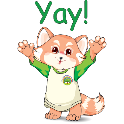 Lester the Lesser Panda messages sticker-3
