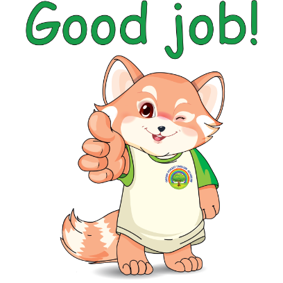 Lester the Lesser Panda messages sticker-11